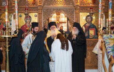 Ρασοφορία Μοναχής στην Ιερά Μονή Παμμεγίστων Ταξιαρχών Πηλίου