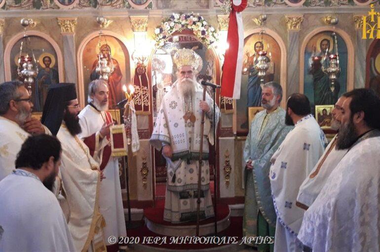 Πανήγυρις Αγίου Παρθενίου Επισκόπου Ραδοβισδίου στο Βελεντζικό Άρτης