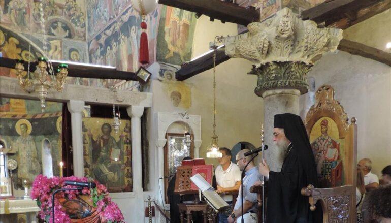 Η Βυζαντινή Άρτα ύμνησε το της «Σοφίας Θεού δοχείον»