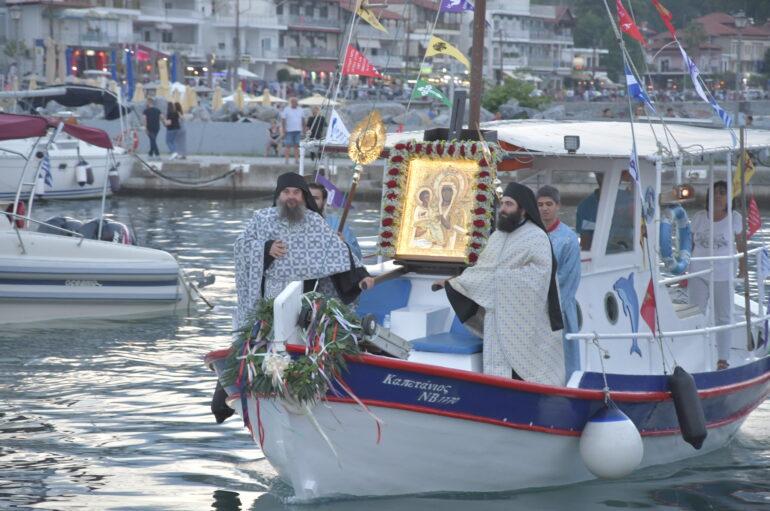 Ο Πλαταμώνας υποδέχθηκε την Παναγία Τριχερούσα