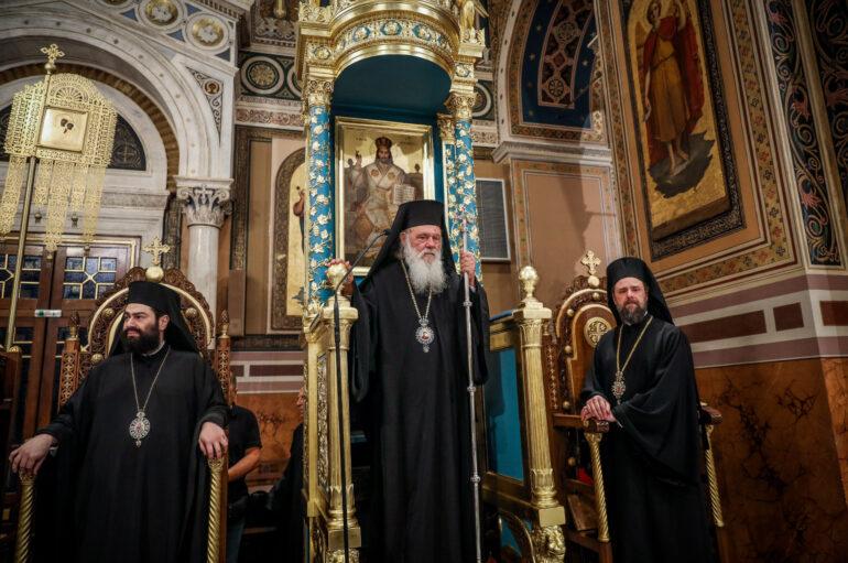 Αρχιεπίσκοπος: Ευχόμαστε η βαρβαρότητα να μην έχει συνέχεια