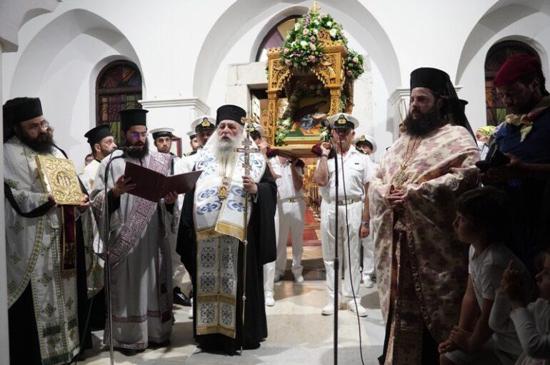 Σύμπασα η Νάξος τίμησε τον Πολιούχο της Άγιο Νικόδημο
