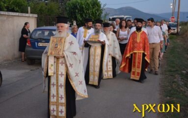 Πανηγυρικός Εσπερινός του Αγίου Παντελεήμονος στην Ι. Μ. Μαντινείας