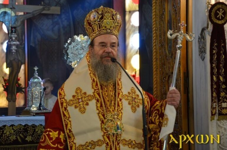 Πένθιμες κωδωνοκρουσίες αύριο στην Ιερά Μητρόπολη Ιερισσού
