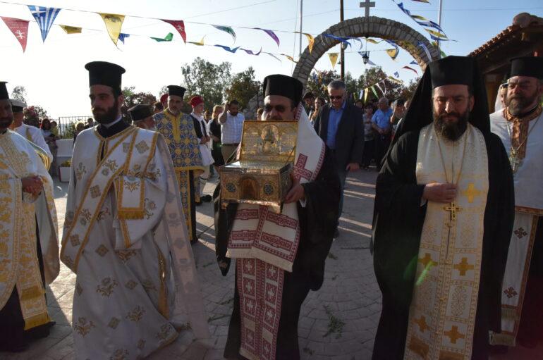 Η Μεσσηνία υποδέχθηκε την Τιμία Κάρα της Αγίας Παρασκευής