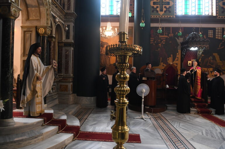 Ο εορτασμός της Αγίας Κυριακής στο Οικουμενικό Πατριαρχείο