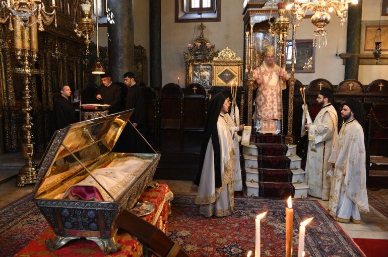 Ο εορτασμός της Αγίας Μεγαλομάρτυρος Ευφημίας στο Φανάρι