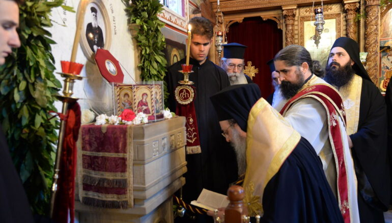 «Γερβάσιος Παρασκευόπουλος: Ὁ πνευματικός πατήρ καί φωστήρ τῶν Πατρῶν»