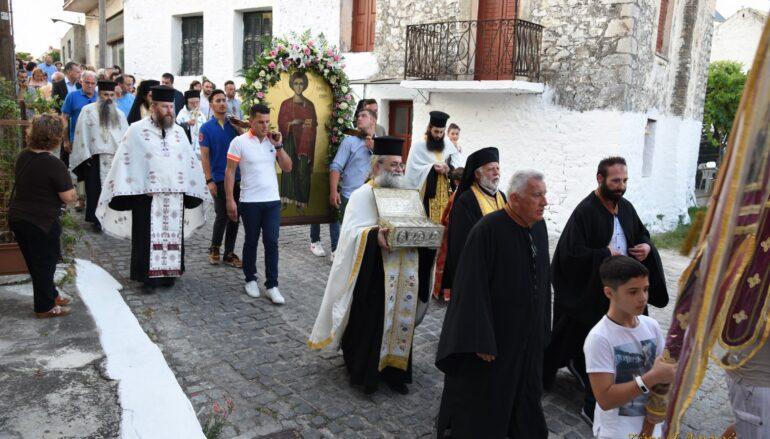 Εορτή του Αγίου Παντελεήμονος στην Βόνιτσα