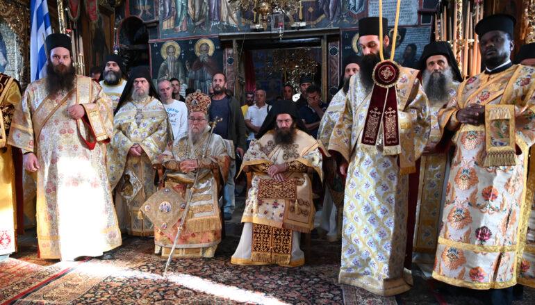 Ο εορτασμός του Αγίου Αθανασίου του Αθωνίτου στην Μεγίστη Λαύρα