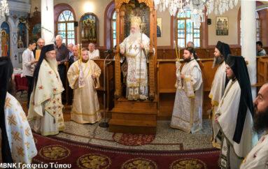 Μνημόσυνο για τον Μητροπολίτη Θεσσαλονίκης Παντελεήμονα στην Ι. Μ. Βεροίας