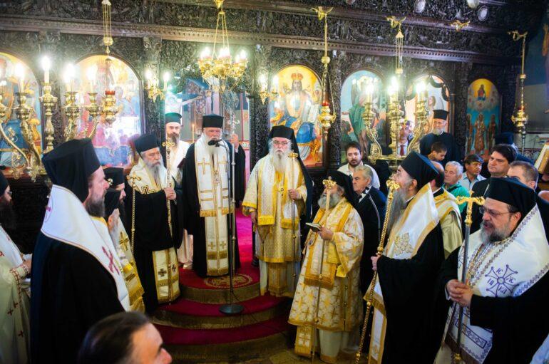 Στην κωμόπολη της Βαλύρας Μεσσηνίας ο Αρχιεπίσκοπος Ιερώνυμος