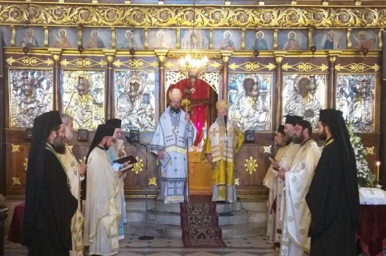 Εορτή της Αγίας Ευφημίας στην Ι. Μητρόπολη Χαλκίδος