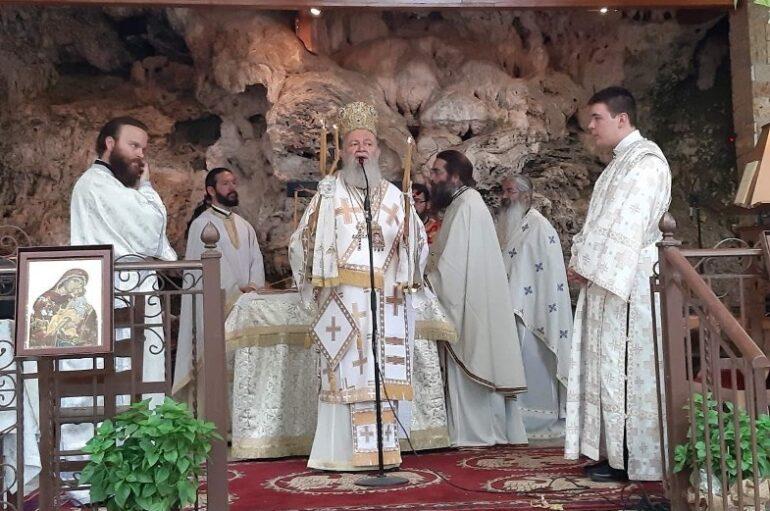 Ο εορτασμός της Αγίας Κυριακής στην Ι. Μητρόπολη Χαλκίδος