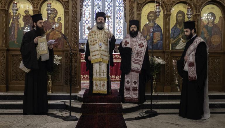 Τρισάγιο για τα θύματα της πανδημίας τέλεσε ο Αρχιεπίσκοπος Αυστραλίας