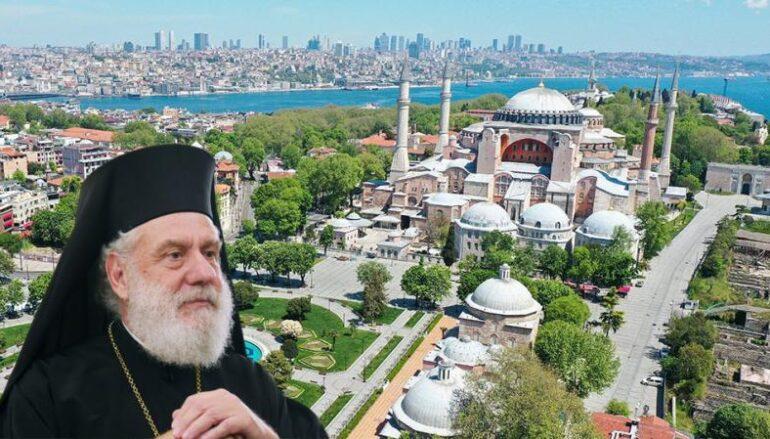Σύρου για Αγία Σοφία: «Πόλεμος» κατά της θρησκείας και της μακρόχρονης ιστορίας