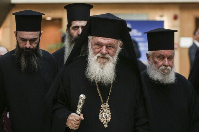 Ο Αρχιεπίσκοπος Ιερώνυμος στην Βαλύρα Μεσσηνίας