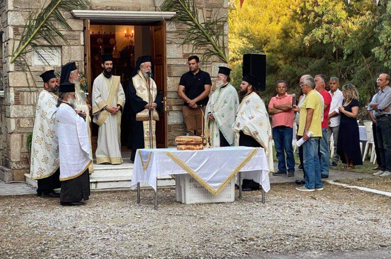 Αρχιερατικός Εσπερινός Αγίων Κηρύκου και Ιουλίτης στην Ι. Μ. Καρυτίας