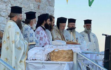 Αρχιερατικός Εσπερινός του Προφήτη Ηλία στην Ι. Μ. Καρυστίας
