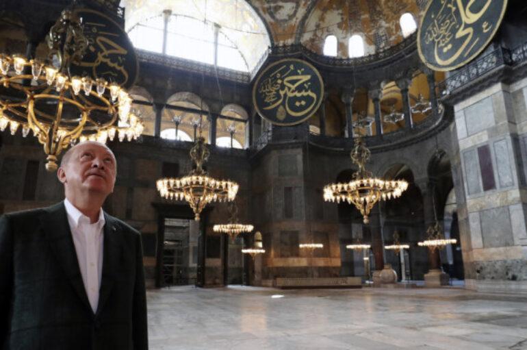 Εκπρόσωπος ΕΕ: «Η μετατροπή της Αγίας Σοφίας σε τζαμί προωθεί τον διχασμό»