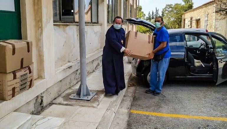 Εθελοντές από την Αγ. Μαρίνα Ηλιουπόλεως επισκέφθηκαν το Δρομοκαΐτειο Νοσοκομείο