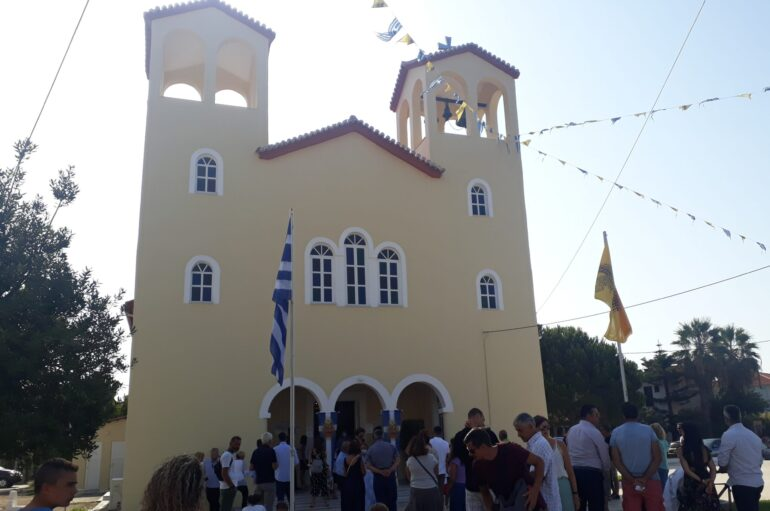Λαμπρός ο εορτασμός της Παναγίας στην Φοινικούντα Μεσσηνίας