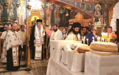 «Tα Εννιάμερα της Παναγίας» στην Ιερά Μονή Κρεμαστής Ηλείας