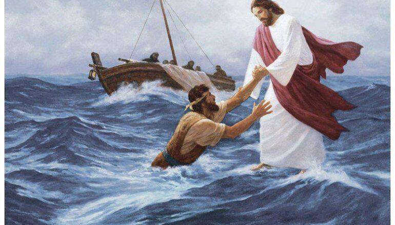 """""""Όταν ο Χριστός μας δίνει το χέρι Του…"""""""