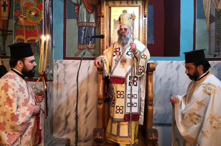 Πανηγύρισε η Ιερά Μονή Παναγίας «Φανερωμένης» Καλλιφωνίου Καρδίτσας