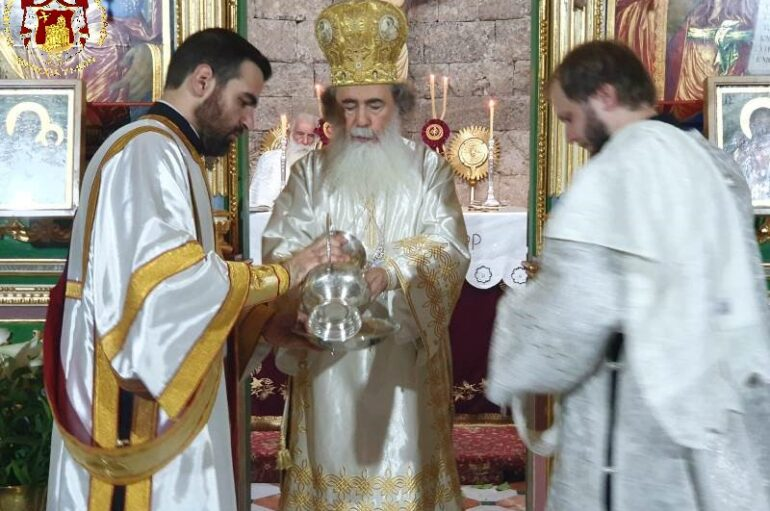 Ο εορτασμός της Μεταμορφώσεως του Σωτήρος στα Ιεροσόλυμα
