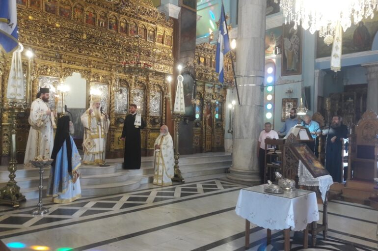 H Σάμος εόρτασε τους Πολιούχους Αγίους της