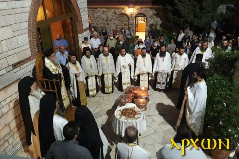 Ο Μητροπολίτης Άρτης στην πανηγυρίζουσα Ι. Μονή Αγίου Θεοδοσίου Αργολίδος