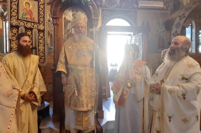 Ο εορτασμός του Αγίου Φανουρίου στην Ι. Μητρόπολη Πατρών