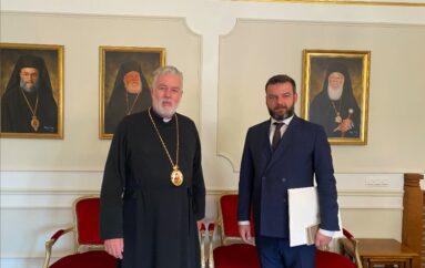 Ο νέος Γενικός Πρόξενος της Ελλάδας στον Μητροπολίτη Βελγίου