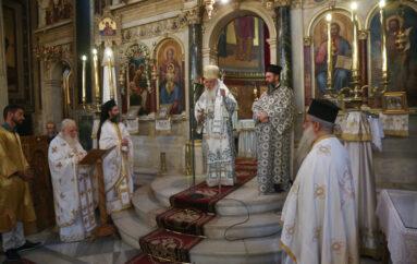 Ο Αρχιεπίσκοπος στον Ι. Ναό Κοιμήσεως Θεοτόκου Χρυσοσπηλιωτίσσης