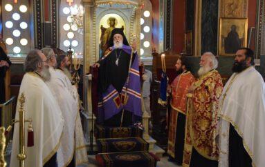 Ιερά Παράκληση στην Υπεραγία Θεοτόκο από τον Μητροπολίτη Μαντινείας