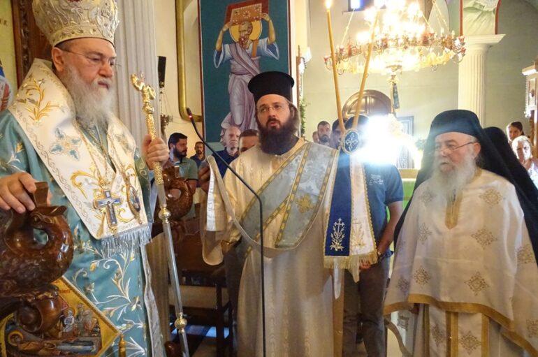 Ο εορτασμός της Κοιμήσεως της Θεοτόκου στην Ι. Μ. Κορίνθου