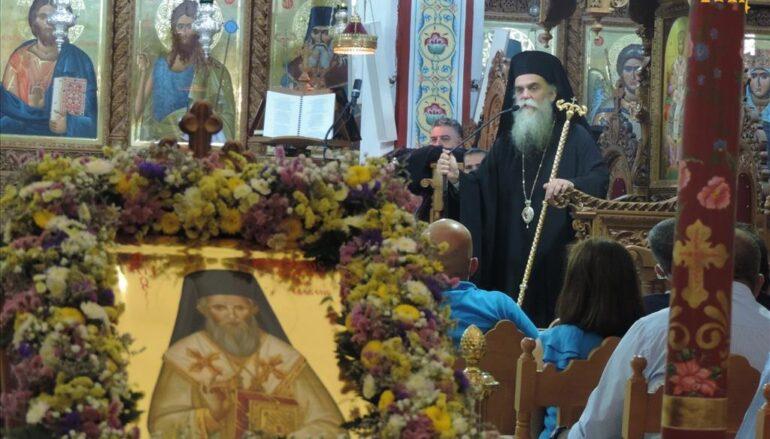 Πανηγυρικός Εσπερινός Αγίου Καλλινίκου Επισκόπου Εδέσσης στην Άρτα