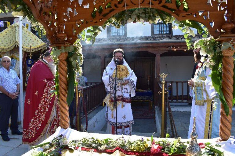 Εορτή της Κοιμήσεως της Θεοτόκου στην Ι. Μητρόπολη Μαρωνείας