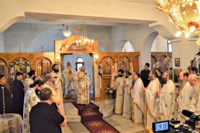 Αρχιερατικό Συλλείτουργο για την Αγία Βάσσα στην Έδεσσα