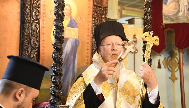 """Οικ. Πατριάρχης: """"Με προσευχή, με αποφασιστικότητα και με το μέτωπο ψηλά συνεχίζουμε"""""""