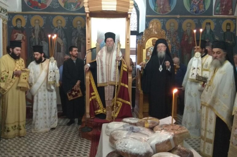Δισαρχιερατικός Εσπερινός του Αγίου Κοσμά στη γενέτειρά του