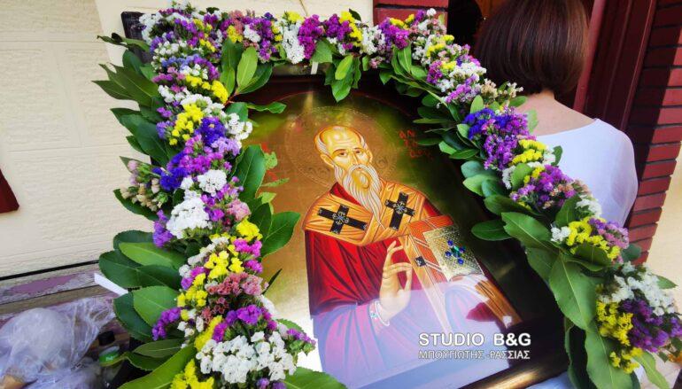 Η εορτή του Αγίου Αλεξάνδρου στο Νοσοκομείο Ναυπλίου