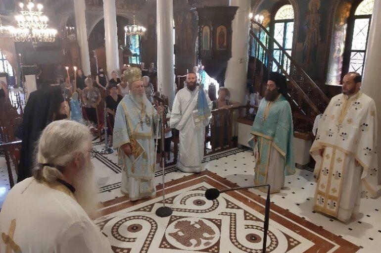 Εορτή του Αγίου Τιμοθέου Επισκόπου Ευρίπου στην Χαλκίδα