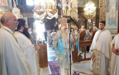 Η εορτή της Κοιμήσεως της Θεοτόκου στην Ι. Μ. Χαλκίδος