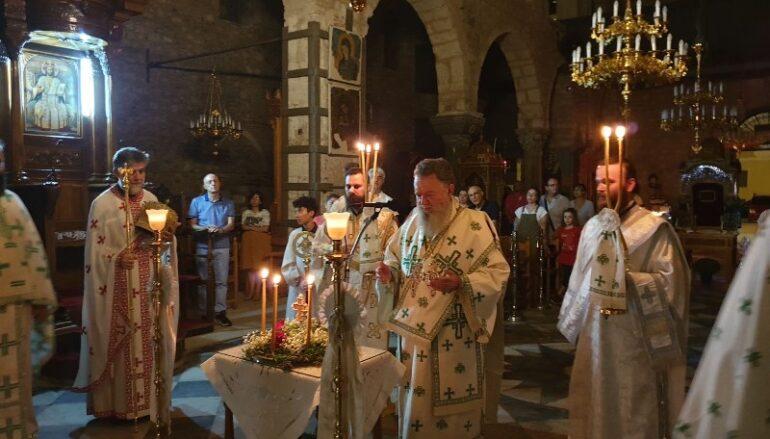 Η εορτή της Προόδου του Τιμίου Σταυρού στην Ι. Μ. Χαλκίδος
