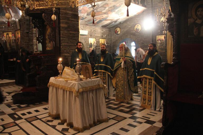 Ο πρώτος εορτασμός του Οσίου Ιωσήφ του Ησυχαστού στο Τρίκορφο Φωκίδος