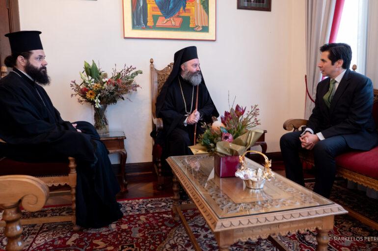 Συνάντηση του Αρχιεπισκόπου Αυστραλίας με τον Γεν. Πρόξενο της Ελλάδας στο Σύδνεϋ