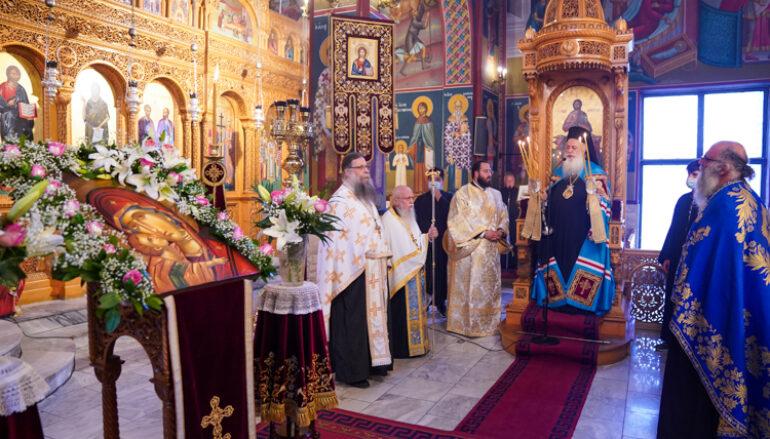 Παράκληση της Παναγίας από τον Μητροπολίτη Βεροίας στην Αλεξάνδρεια
