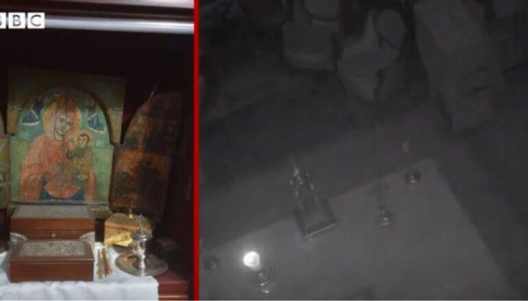 BBC: Το Ιερό του ελληνορθόδοξου ναού που γλίτωσε «σχεδόν άθικτο» από την έκρηξη στη Βηρυτό